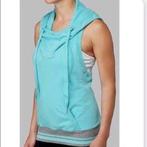 Sleeveless Lululemon hooded sweatshirt